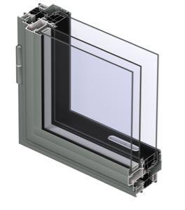 پنجره آلومینیومی ترمال بریک
