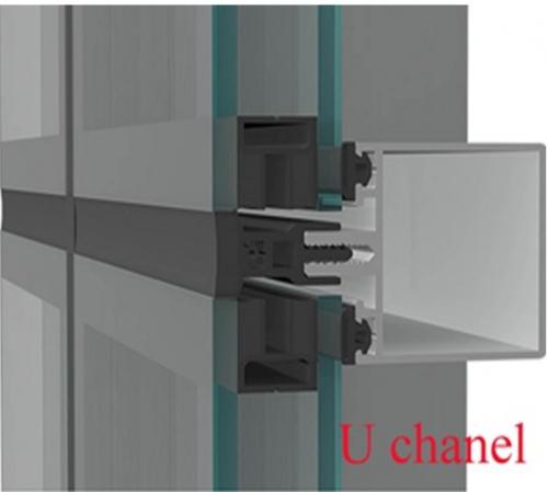 انواع نمای کرتین وال شیشه ای از لحاظ ظاهری
